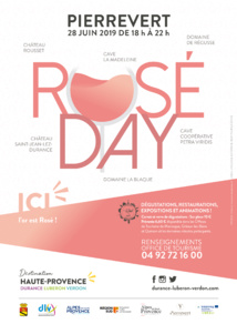 "Evenement : Premier ""Rosé Day"" à Pierrevert"