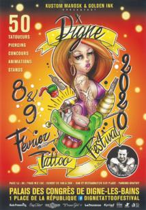 [SALON] L'art du tatouage au Digne Tattoo Festival