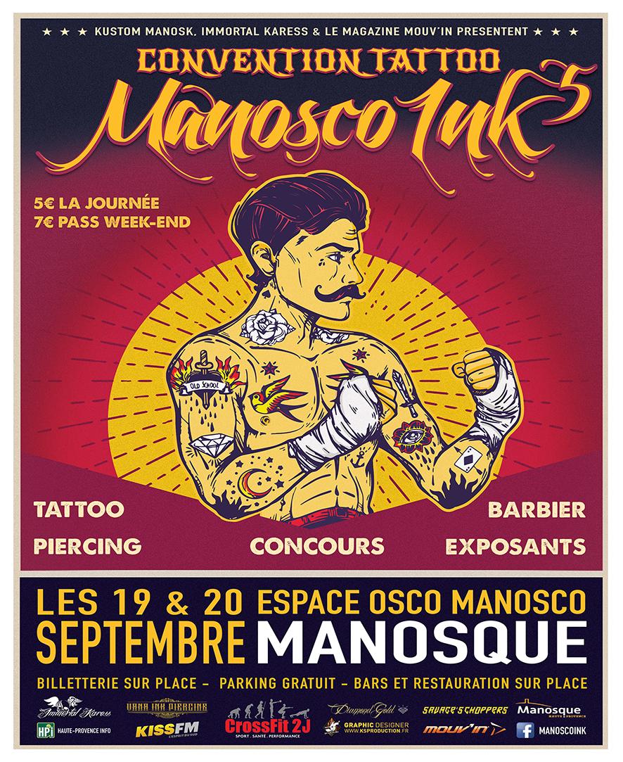 Salon du tatouage 5eme Edition, c'est ce week-end à Manosque !