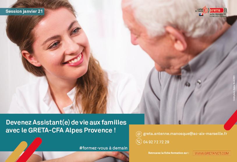 En recherche d'une formation ? Le Greta-CFA Alpes-Provence, votre partenaire formation !