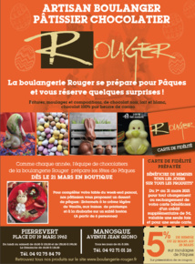 [Pâques] La tradition de Pâques ches Rouger à Manosque et Pierrevert