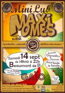 Un mini-festival de musique pour les Kids