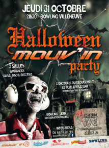 Halloween Mouv'in Party