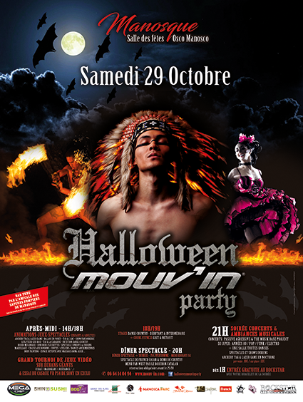 HALLOWEEN MOUV'IN PARTY // J-40