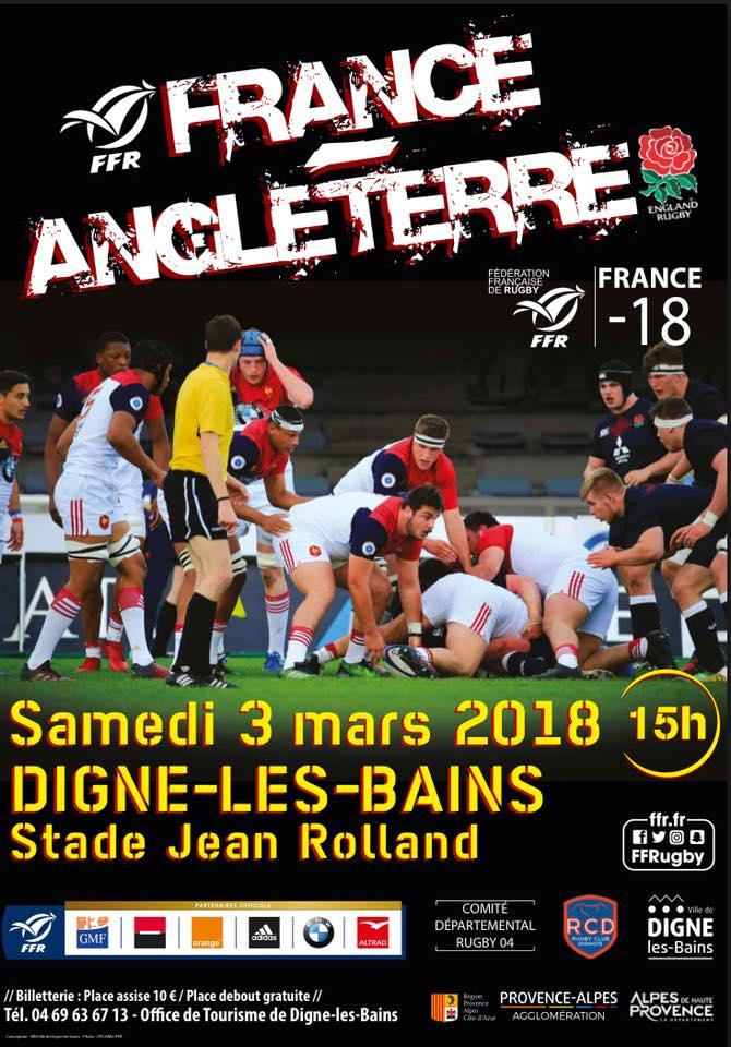[Rugby] Coupe du monde à Digne le 3 mars