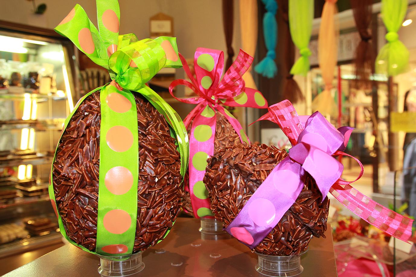 La chocolaterie Leroy fête Pâques