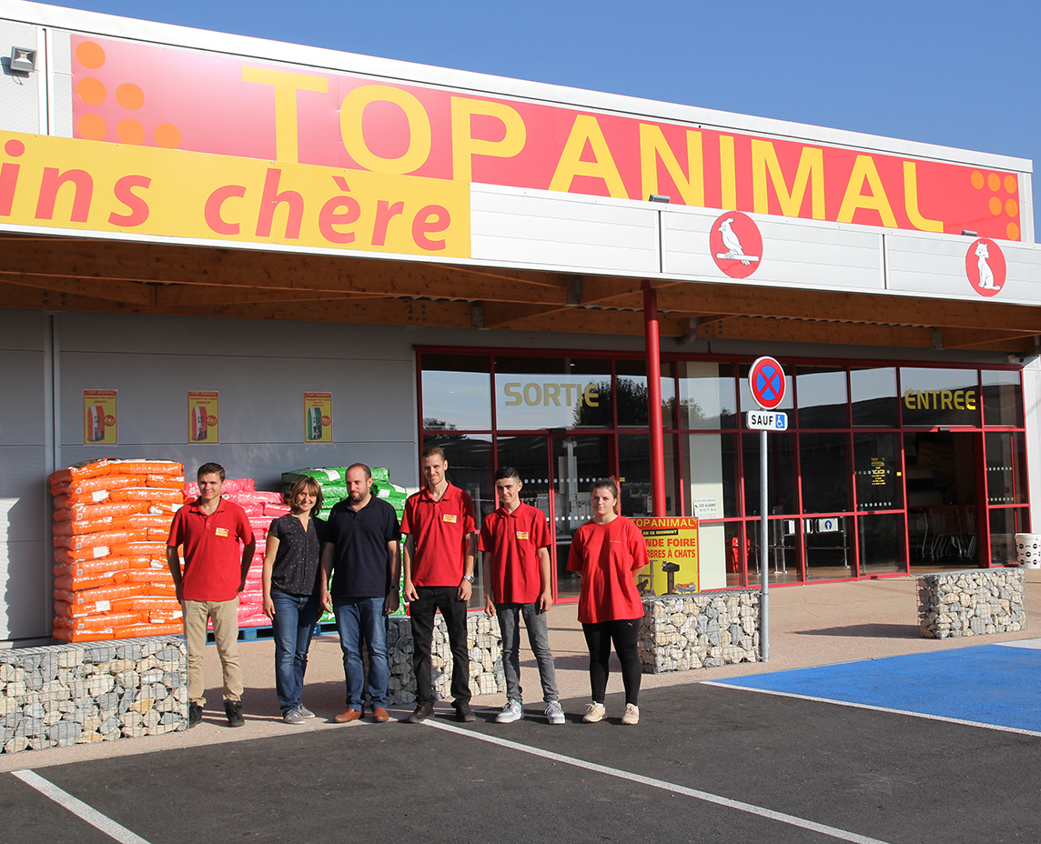 Top Animal, le supermarché des animaux