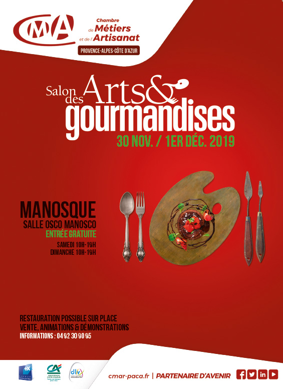 2ème Salon Arts et Gourmandises - Manosque