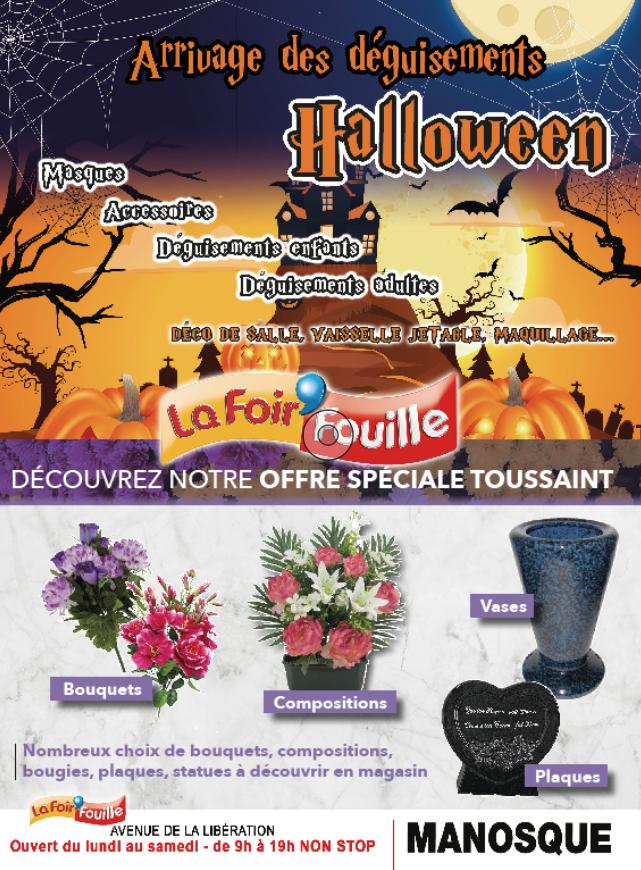 [Tradition]  La Foir'Fouille pense à tout pour Halloween et la Toussaint