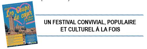 [Festvial] 9ème festival « les coups de coeur » de St-Martin-de-Brômes