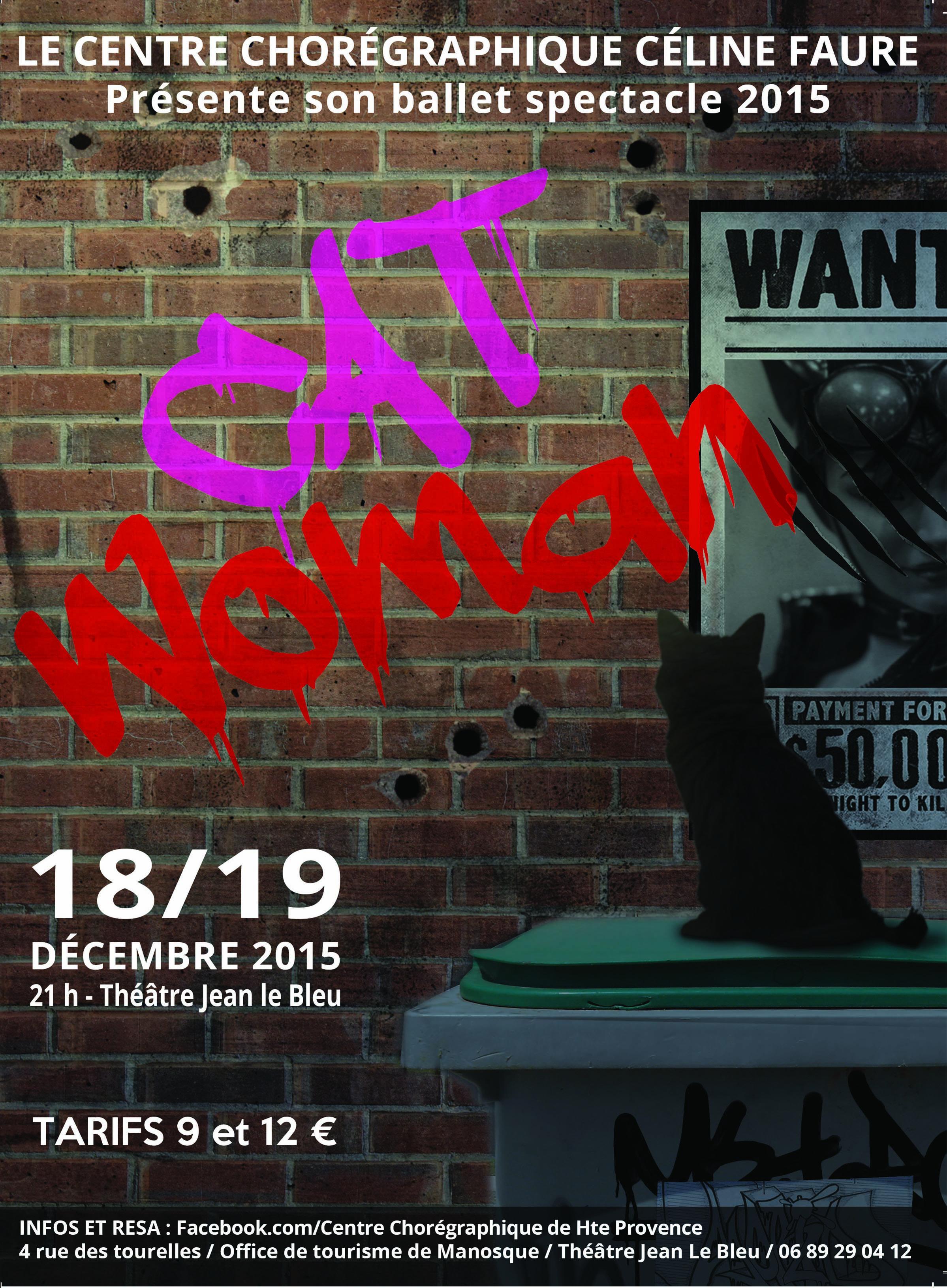 Catwoman par le Centre chorégraphique