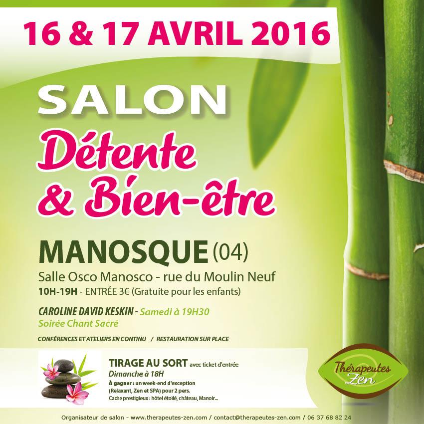 1er salon du bien tre manosque for Salon bien etre mandelieu