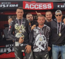Les manosquins d'EXK Paintball champions de France