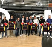 Une équipe de rugby à 7 avec les South Sevens