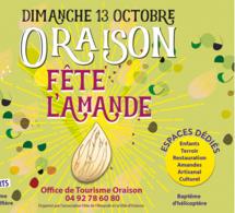 Dimanche 13 Octobre, Oraison fête l'Amande !