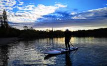 Des tours de paddle au lac des Vannades pour le Téléthon