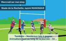 Un tournoi de rugby à 7 ce mercredi 1er Mai à Manosque