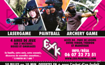 Paint-Ball // Laser Game en plein air chez EXK Paintball